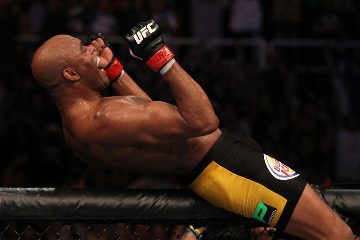 UFC® RIO Silva vs Okami at HSBC Arena on Saturday, August 27, 2011 in Rio de Janeiro, Brazil (Photos by Al Bello/Zuffa LLC/Zuffa LLC via Getty Images)