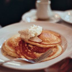 """Pancakes from Maialino by <a href=""""http://www.flickr.com/photos/naftels/6277938744/in/pool-eater/"""">naftels</a>. <br />"""