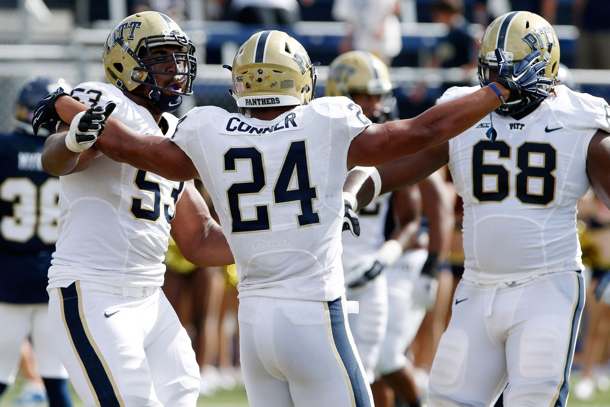 more photos 04d49 a511e Pittsburgh Panthers RB James Conner announces he is cancer ...