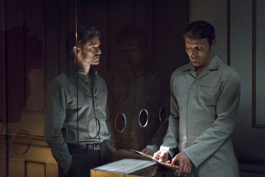 Will consults with Hannibal.