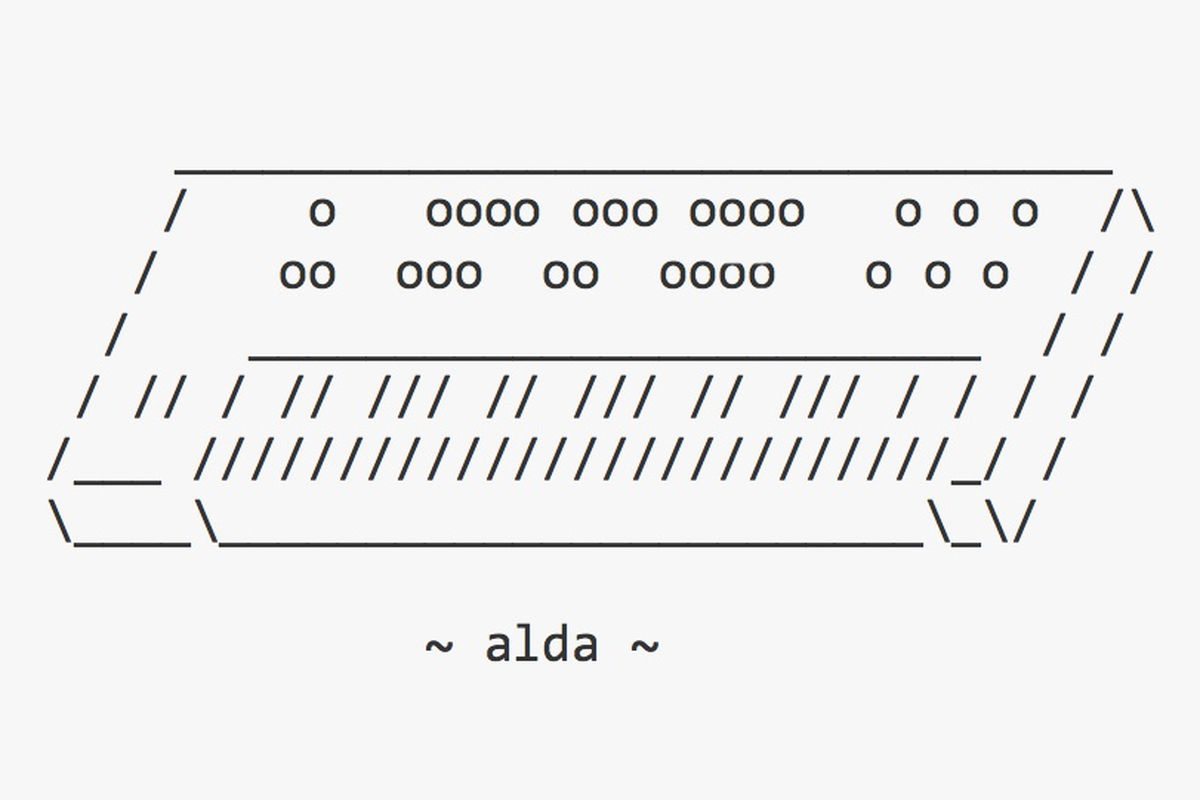 Alda is a command line notation tool for musical masochists