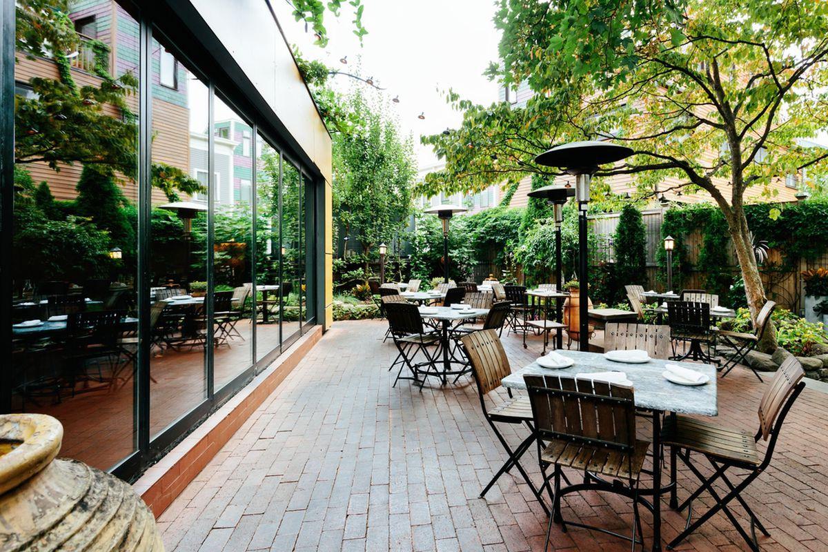 Oleana's patio