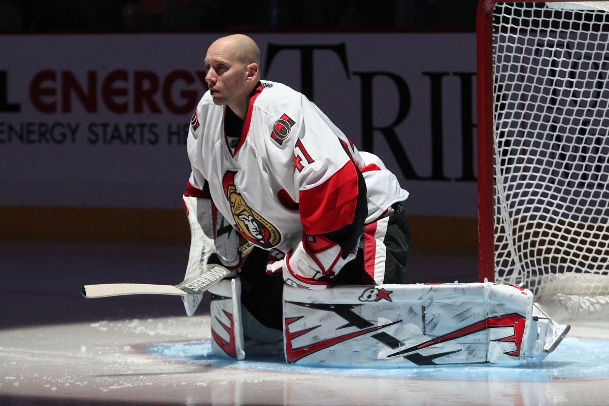 Like the last man standing in dodgeball, Craig Anderson stares down fate.