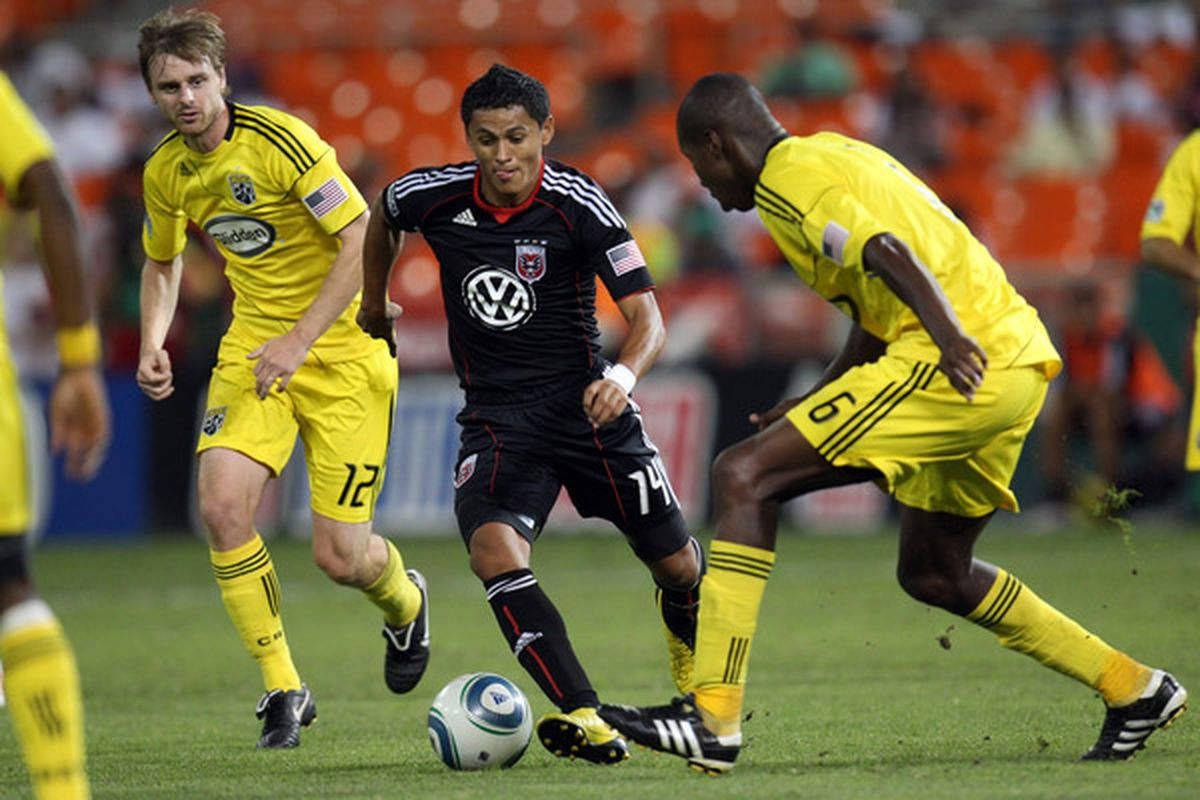 Can D.C. United emerge from their scoring drought by moving Andy Najar to forward?