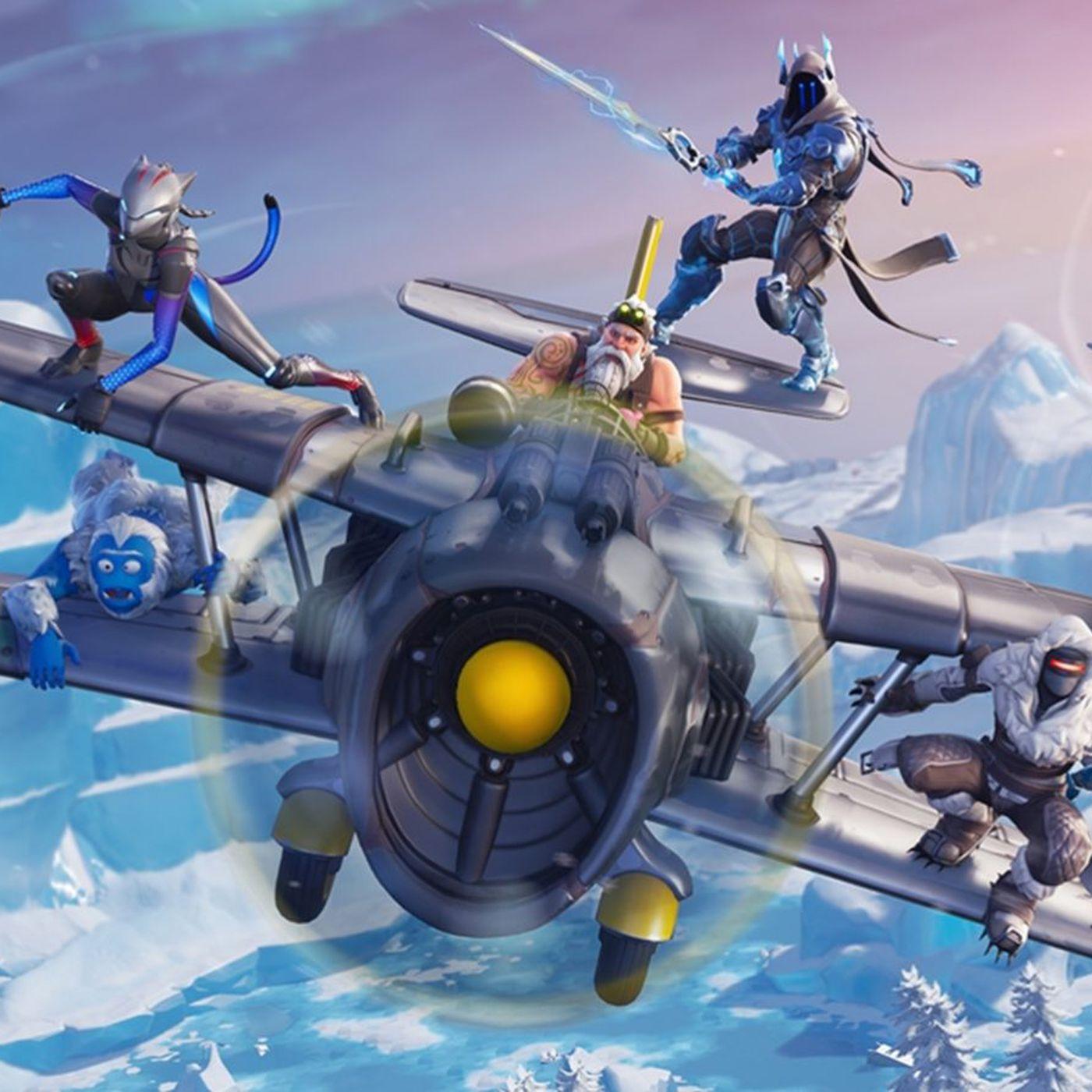 Fortnite Season 7 Brings Ziplines A Plane And New Map Updates Polygon