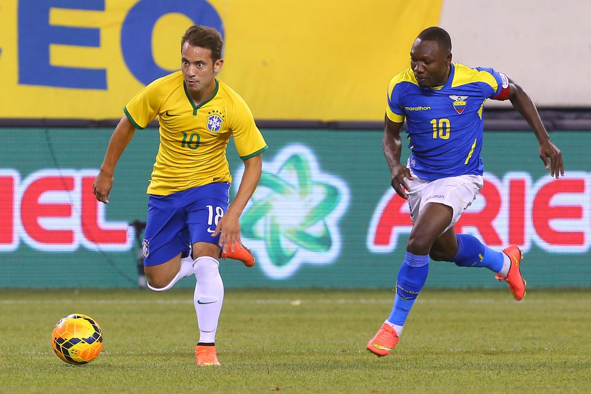Brazil-Ecuador is the main course of Saturday's Copa action.