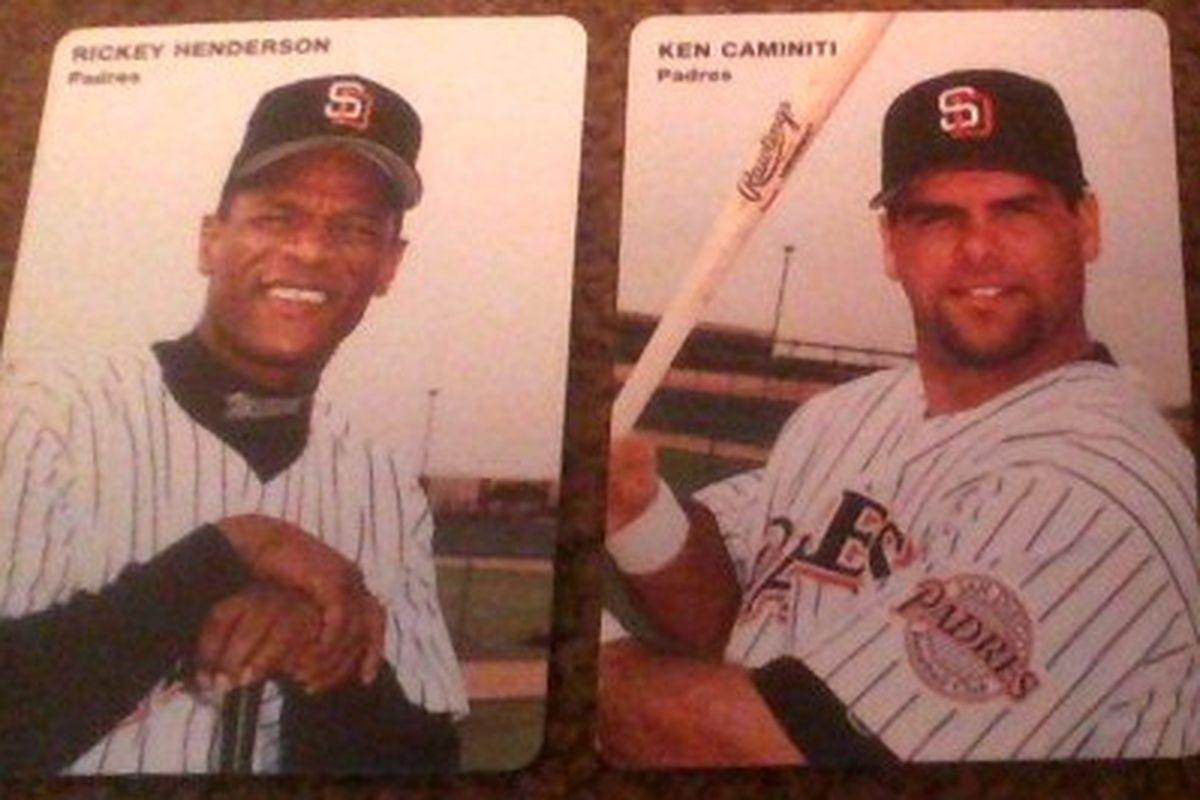 Cardboard Corner 1996 Mothers Cookies Padres Team Set