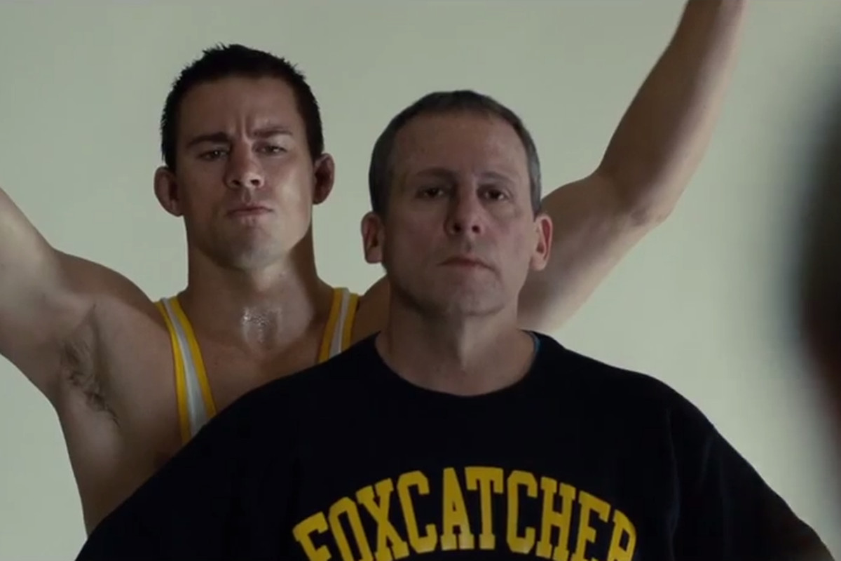 This is not a still from Magic Mike XXL. This is from the movie Foxcatcher.