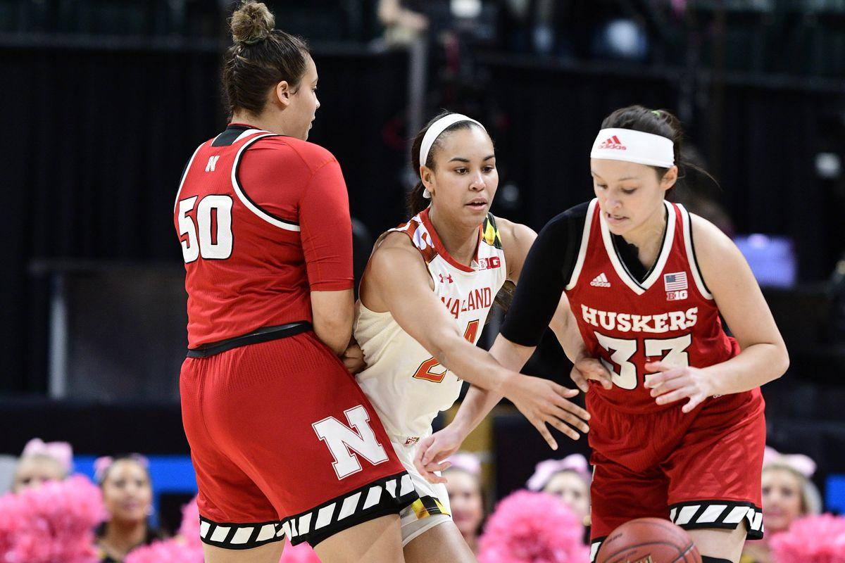 NCAA Womens Basketball: Big Ten Conference Tournament- Maryland vs Nebraska