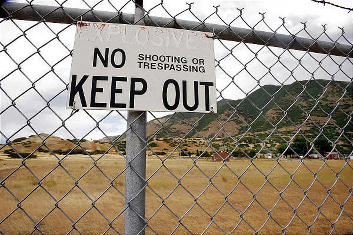 A developer wants to build homes at the site of the old Ensign-Bickford explosives plant near Spanish Fork Canyon.