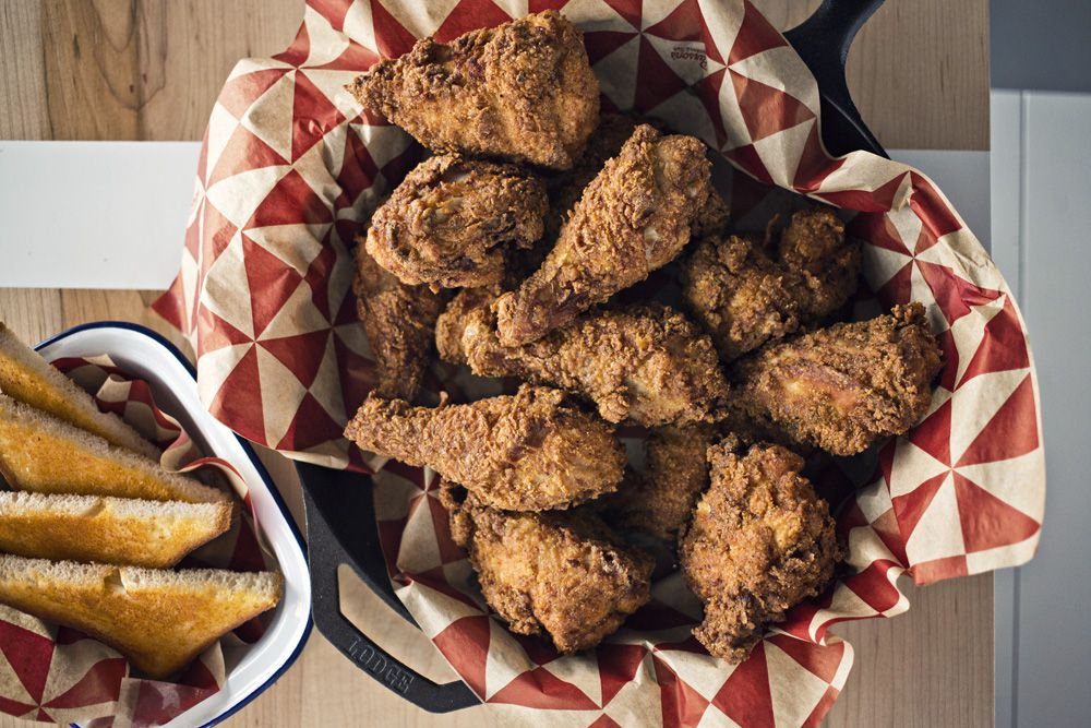 The fried Amish chicken is just one reason Parson's Chicken & Fish restaurant was named one of Chicago's best new restaurants by Bon Appetit.