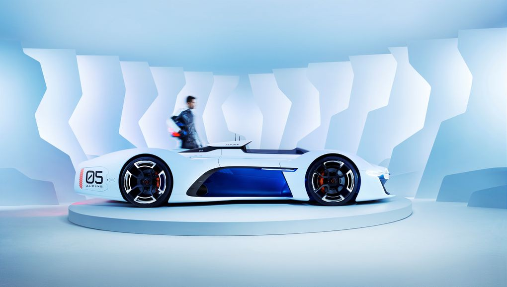 Renault S Alpine Vision Gt Is An Outrageous Race Car For