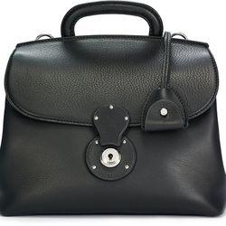"Small Ricky satchel, $612 (was $1,750) via <a href=""http://www.lyst.com/bags/ralph-lauren-small-ricky-satchel-black/"">Lyst</a>"