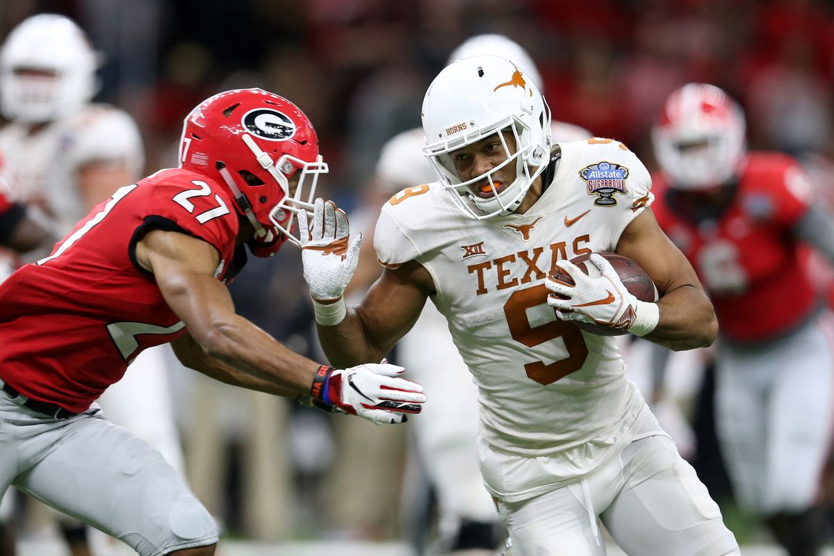 Collin johnson projected to end first round texas draft drought