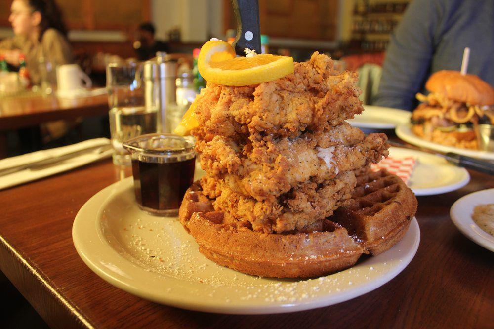 Portlands Most Worthy Waffles Mapped