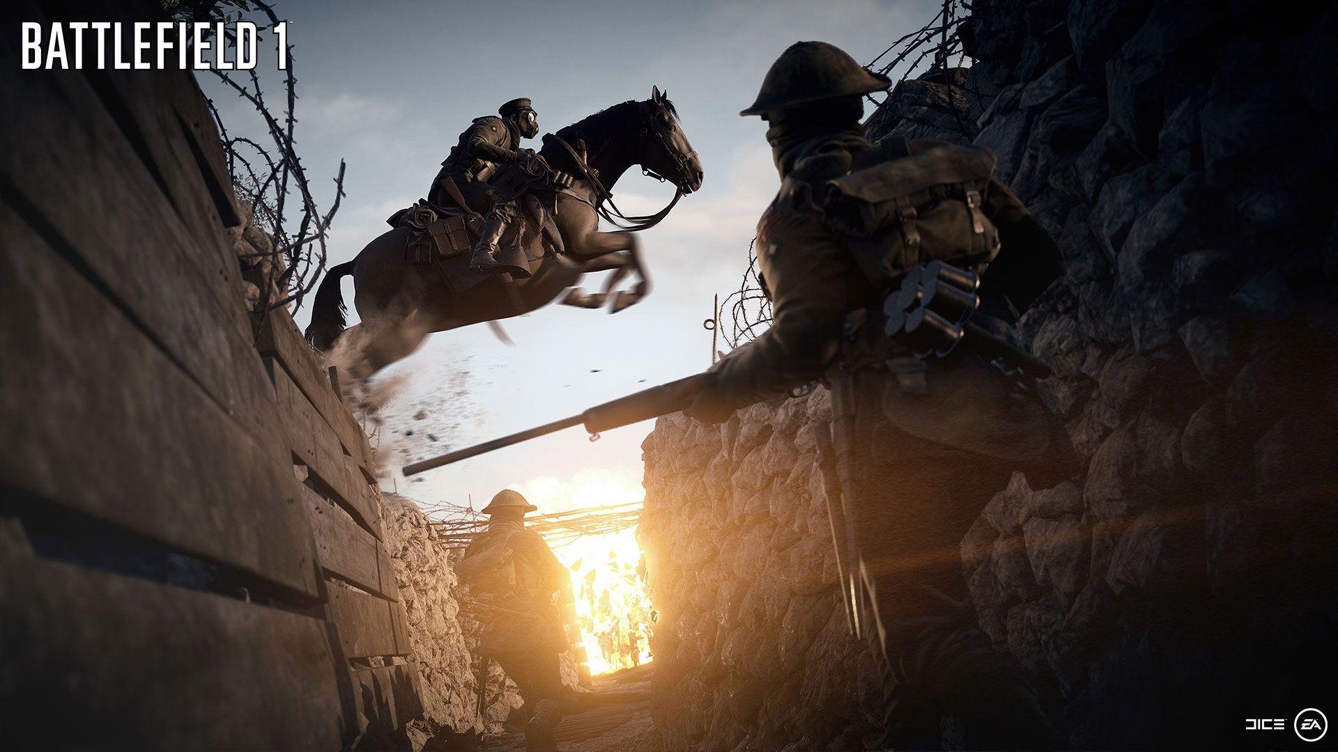 Battlefield 1 delivers tide-turning behemoth vehicles, procedural weather   Polygon