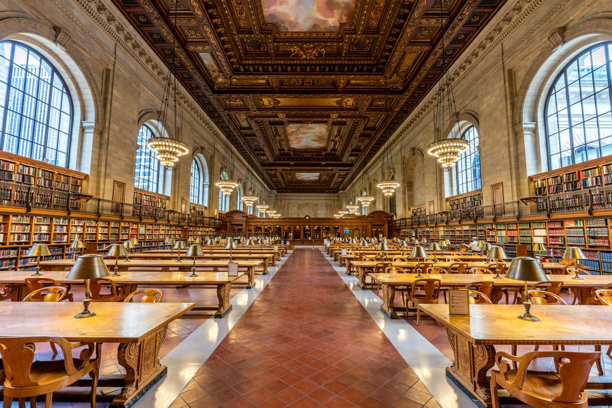 Image result for The Main Hall of the Library nyc