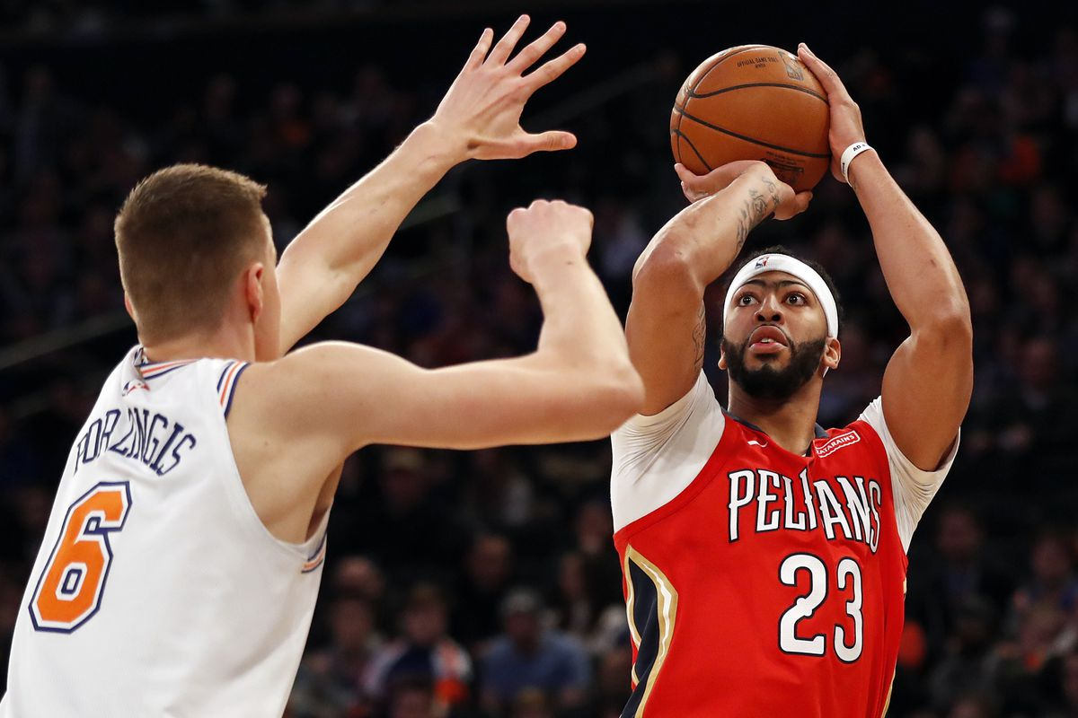 a238a652b786 Anthony Davis reportedly not that interested in Celtics  Knicks preparing  offer to rival Lakers