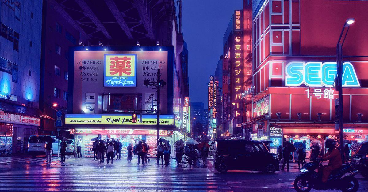 2liamwong akihabararain tokyo japan