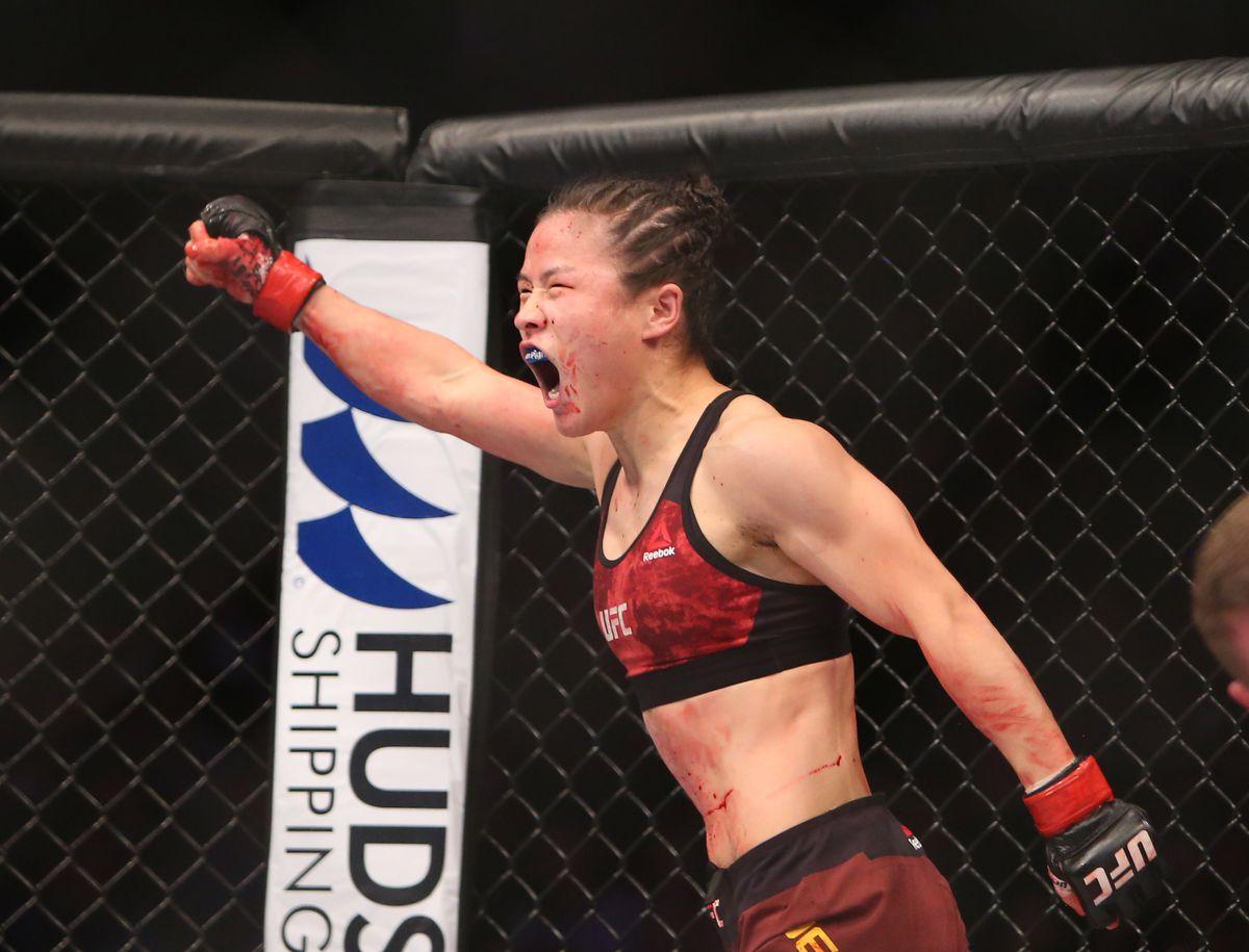 MMA: UFC Fight Night-Zhang vs Aguilar