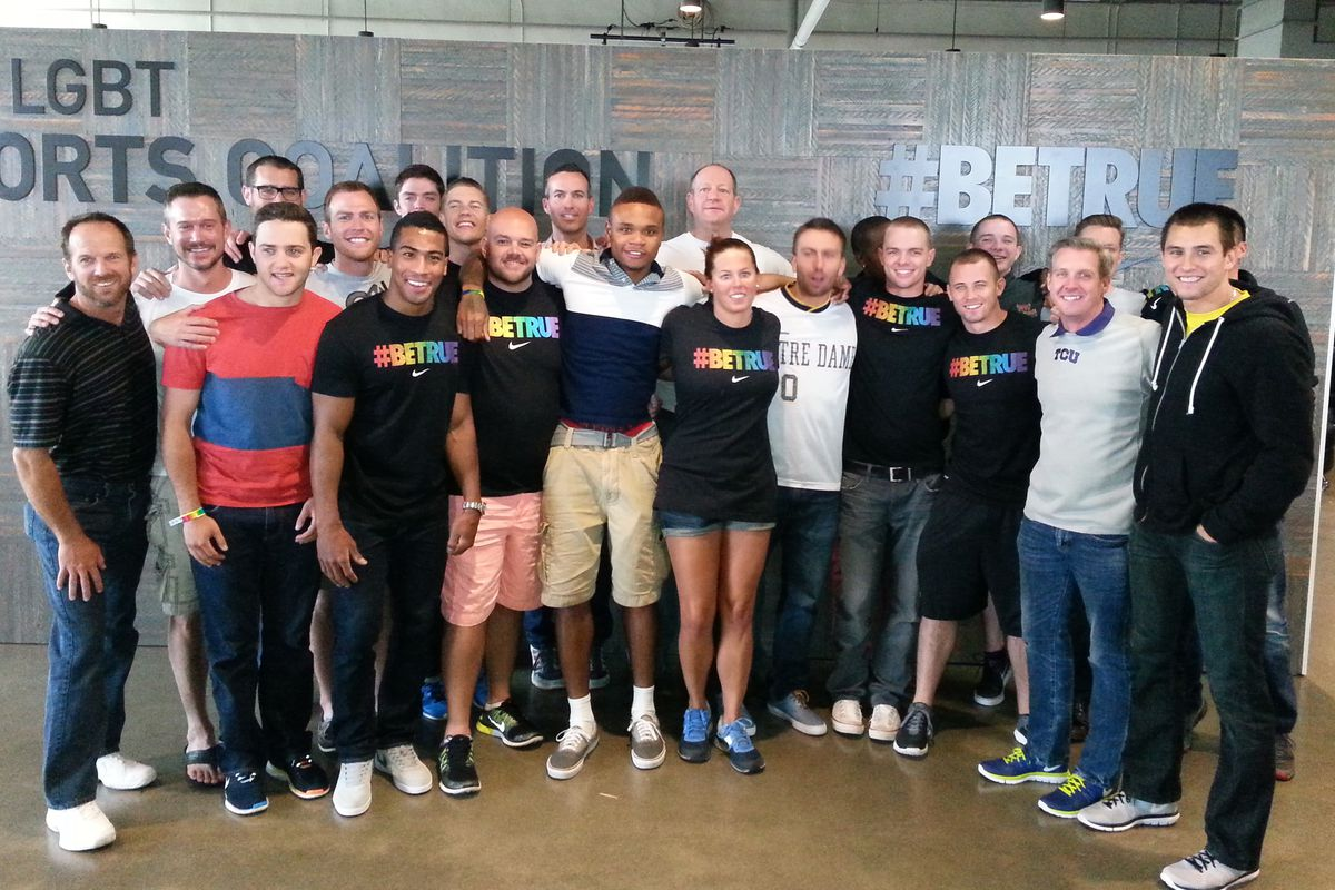 Many of the GO! Athletes board members attend the annual Nike LGBT Sports Summit.