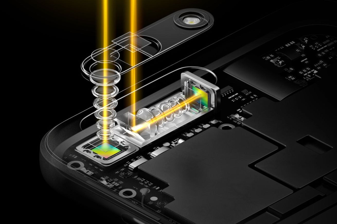 <em>Oppo announced 5x hybrid zoom technology (pictured) back in 2017. </em>