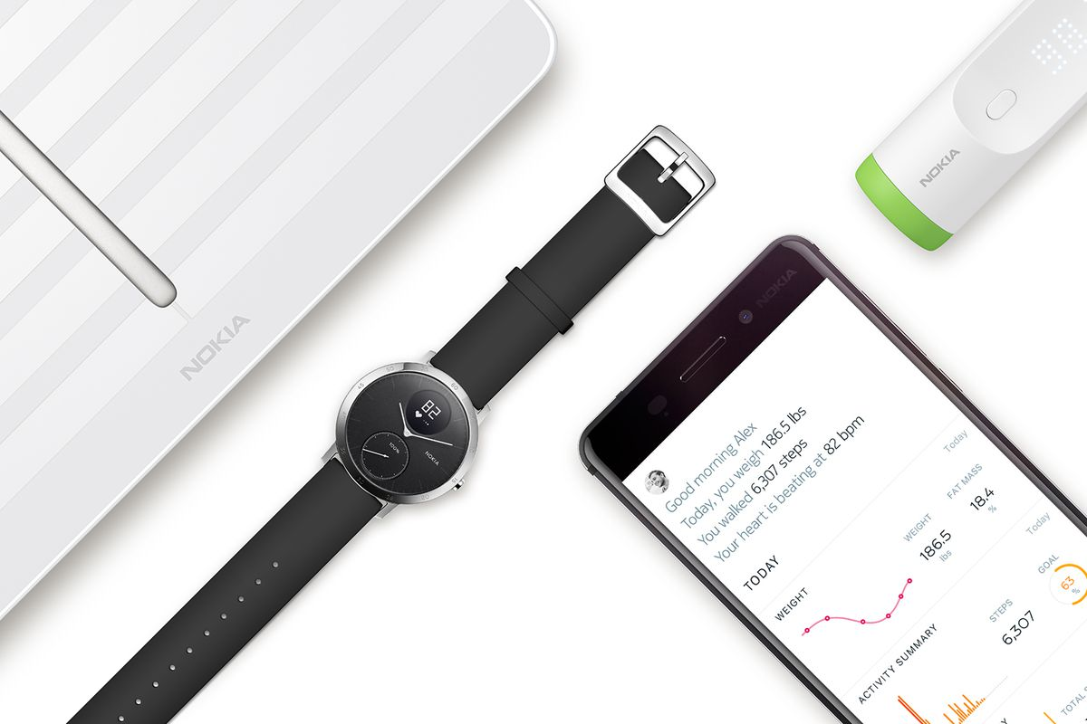 Withings rebrands as Nokia Health to take on fitness wearables market