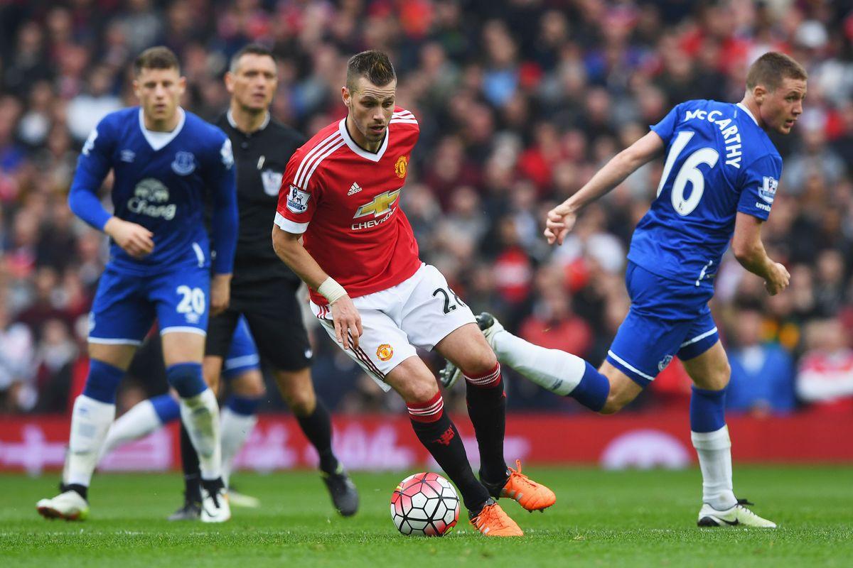 Morgan Schneiderlin against Everton