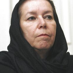 In this Dec. 22, 2007 file photo, Christine Levinson, the wife of missing former FBI agent Robert Levinson, takes part in a news conference at the Swiss Embassy in Tehran. The US has proof that ex-FBI agent Robert Levinson is alive, four years after vanishing in Iran.