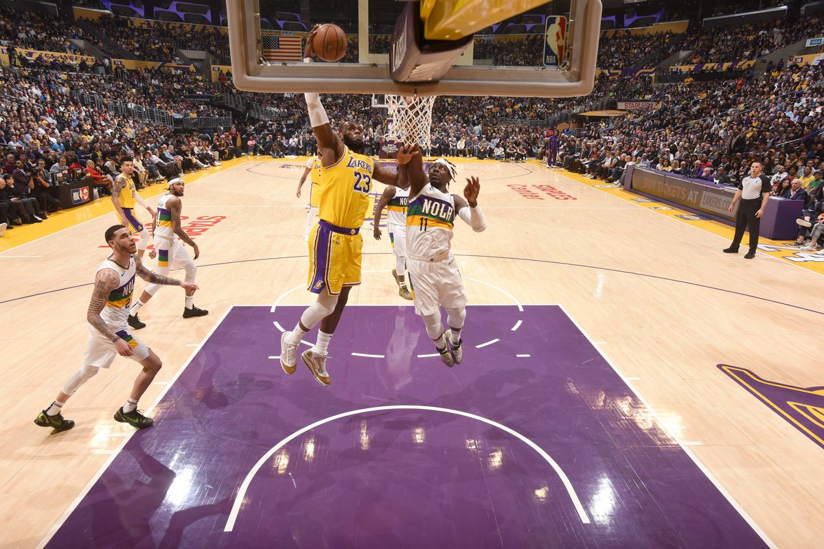 Lakers Vs Pelicans Final Score Lebron Asserts Dominance In 118 109 Win Silver Screen And Roll
