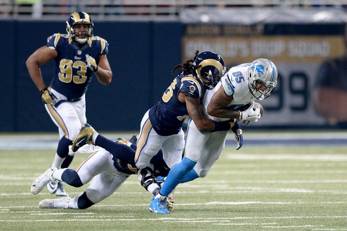 Los Angeles Rams S Mark Barron