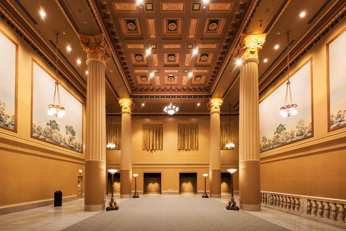 A look inside Chicago Union Station's beautifully restored ... Chicago Union Station Map on