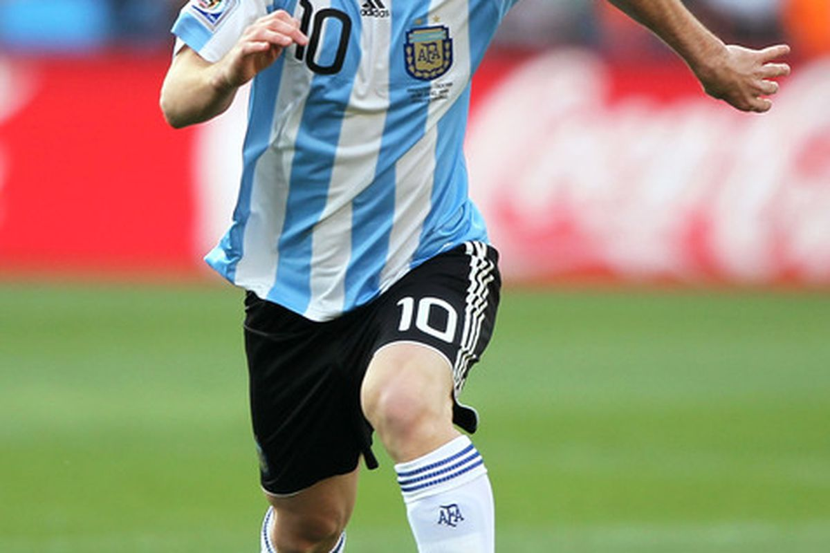 Messi enjoyed a career game in Argentina colors against Switzerland.