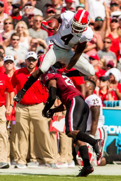 NCAA Football: Georgia at South Carolina