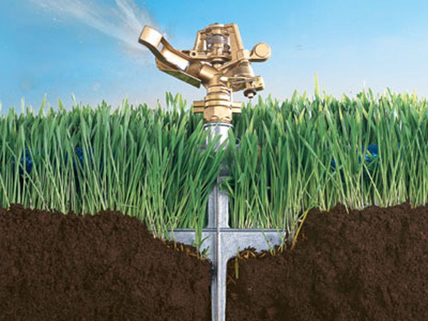 SPRINKLER SOAKER HOSE 50 Ft Garden Lawn Grass Plant Sprinkling Soaking Watering