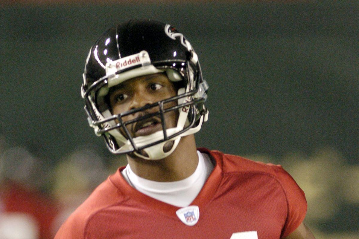 2005 American Bowl in Tokyo - Atlanta Falcons Practice - August 3, 2005