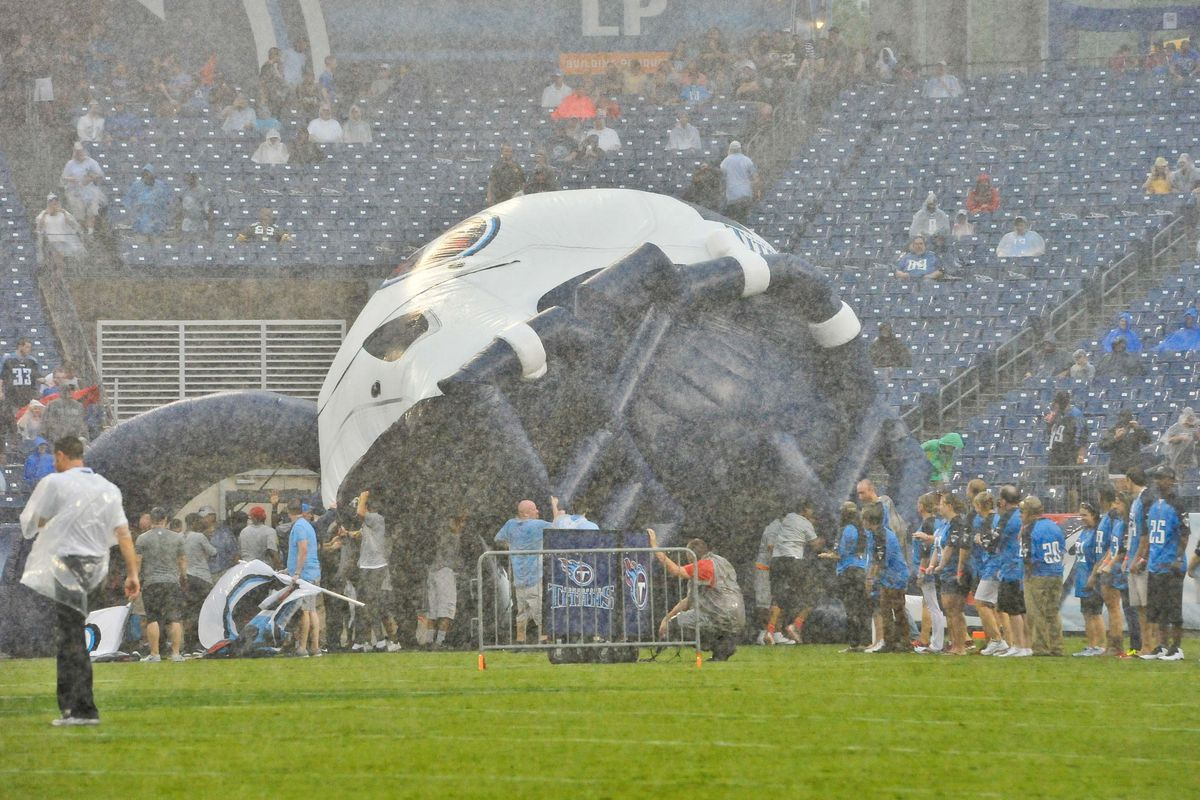 The Titans' on-field shenanigans took the nation BY STORM.