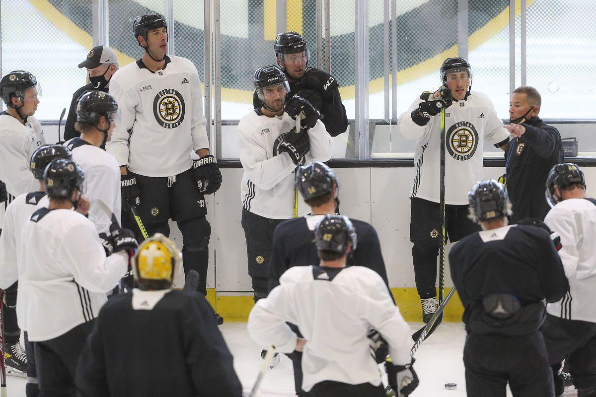 Boston Bruins Begin Training Camp