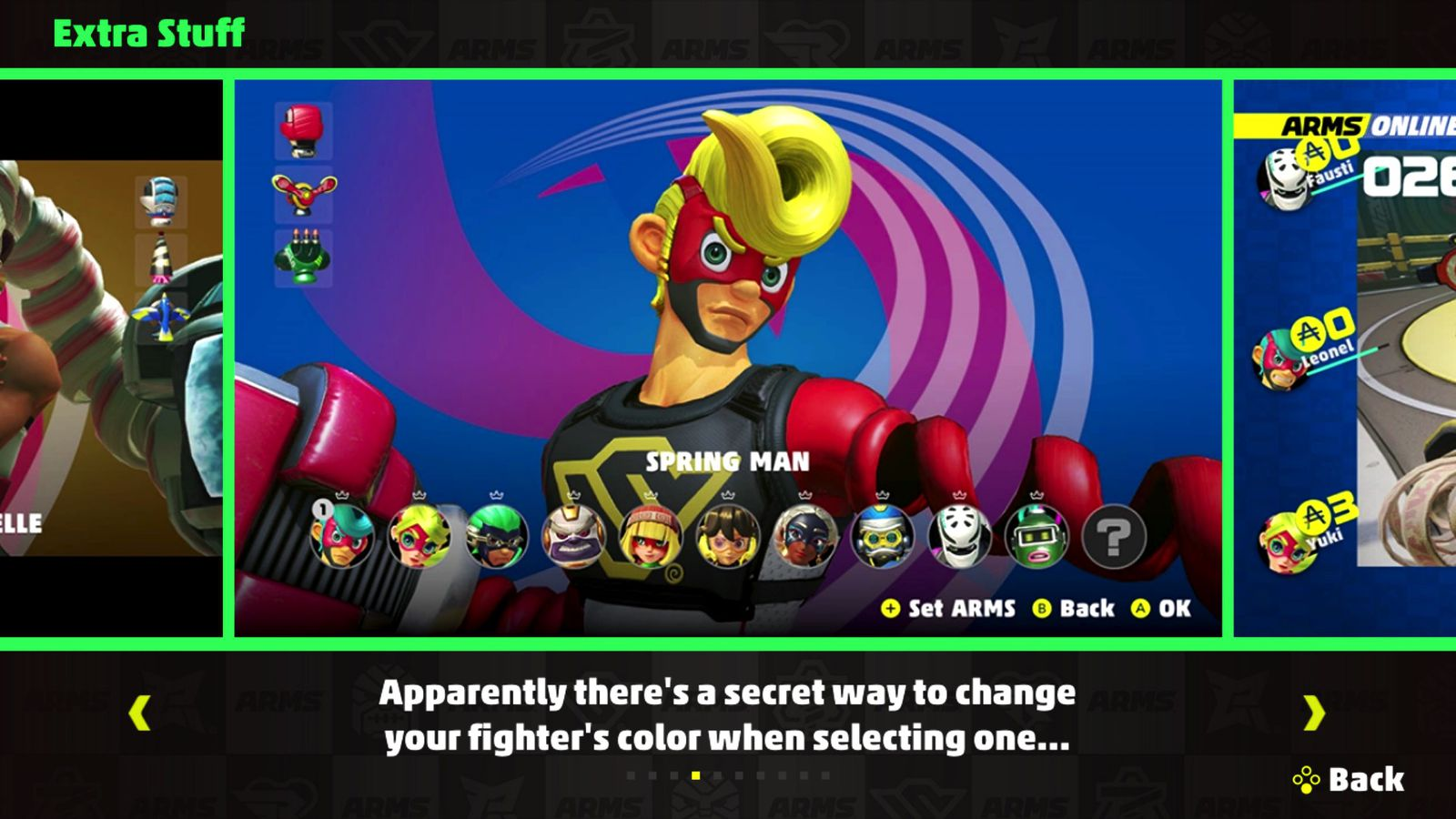 how to change colors in arms polygon