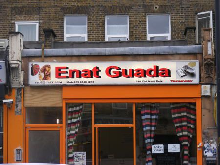 Best east African restaurants in London: Enat Guada on Old Kent Road
