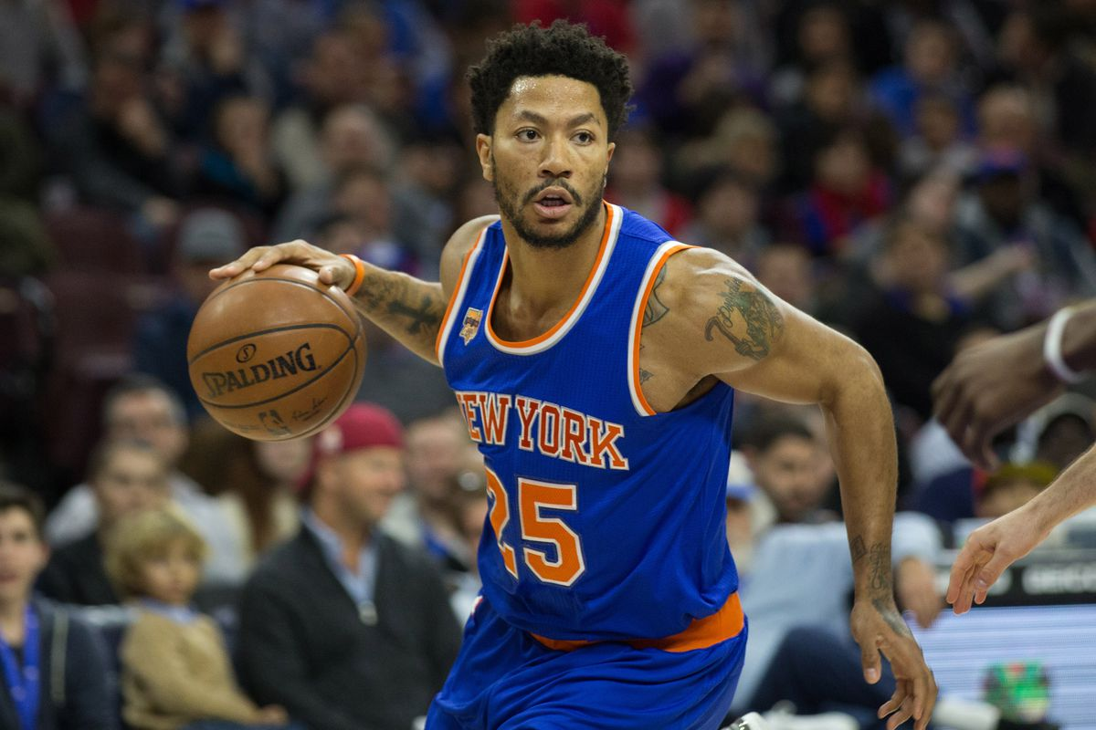 0fce1bb7ba04 Knicks reportedly interested in re-signing Derrick Rose after last year s  experiment failed. New ...