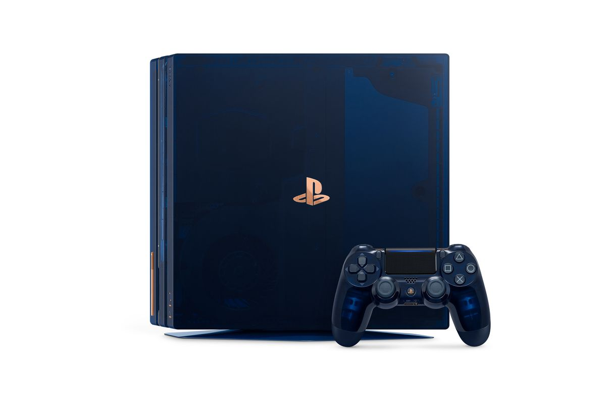 Sony Celebrates Selling 500 Million Playstations With A Limited Ds4 New Dual Shock 4 Light Gold Model Image
