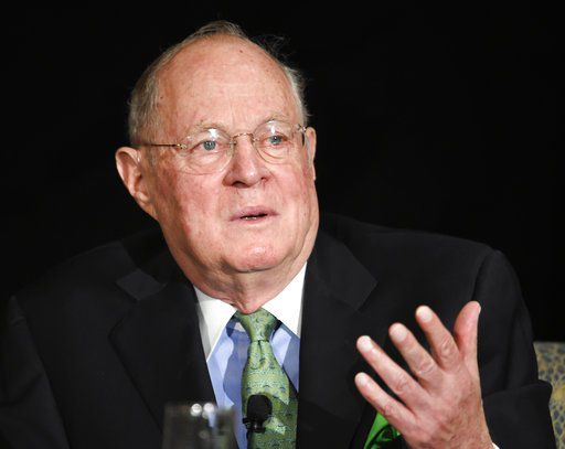 Kavanaugh once served as a law clerk to retiring Supreme Court Justice Anthony Kennedy.   AP/Denis Poroy
