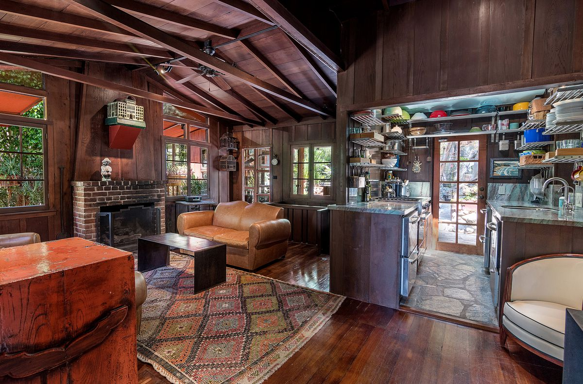 Rustic Cottage Compound In The Hollywood Hills Asking 1
