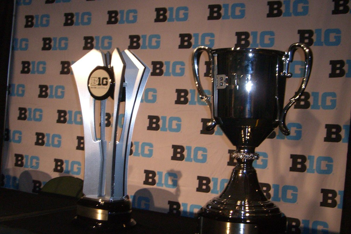 Conference play begins with all six teams fighting for the left trophy.