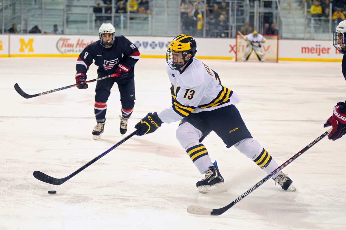 new style 85874 37b17 2015 NHL Draft Profiles: Zach Werenski's 17-year-old NCAA ...
