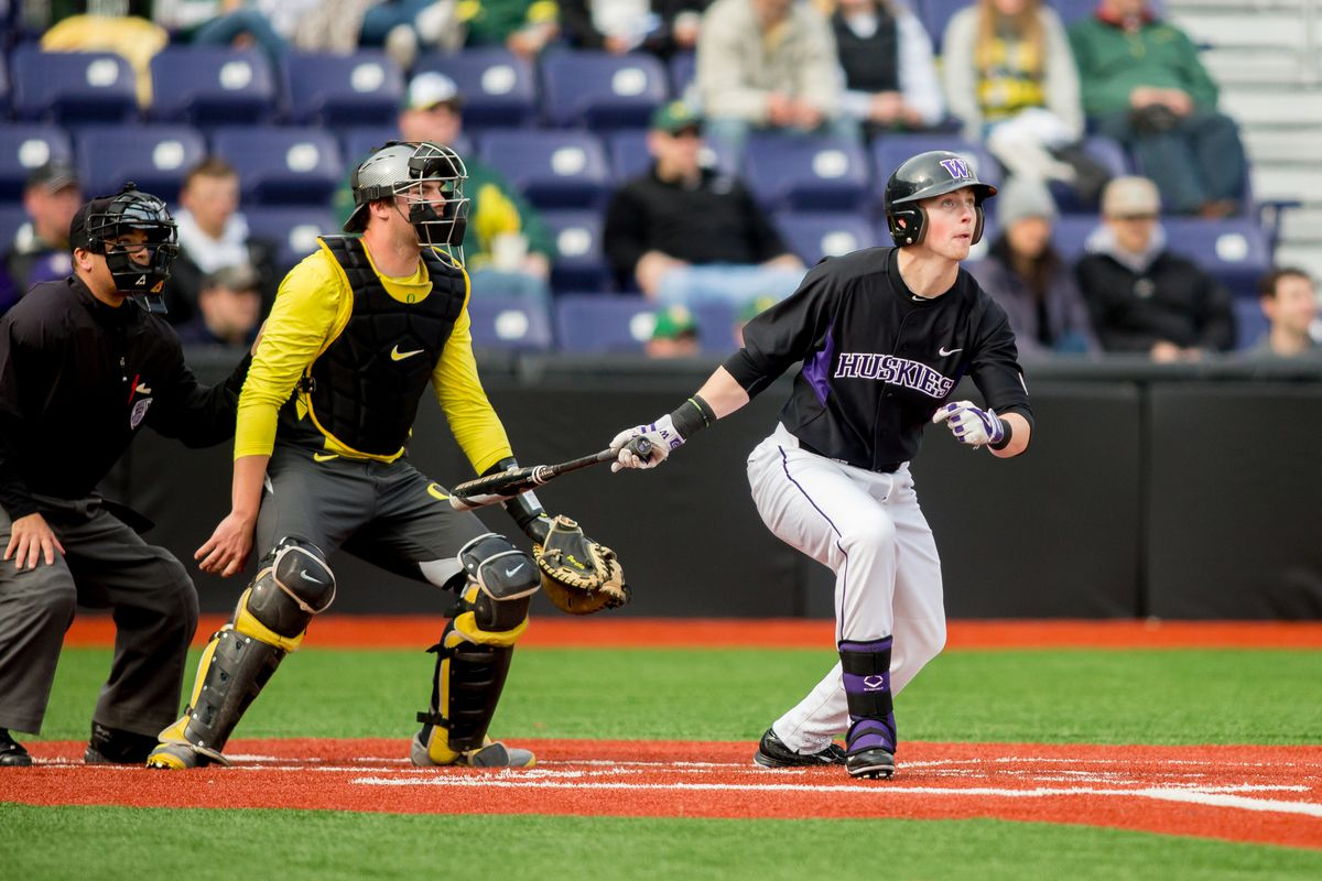 Brian Wolfe, shown here in college, connected on a grand slam for the Loons on Saturday