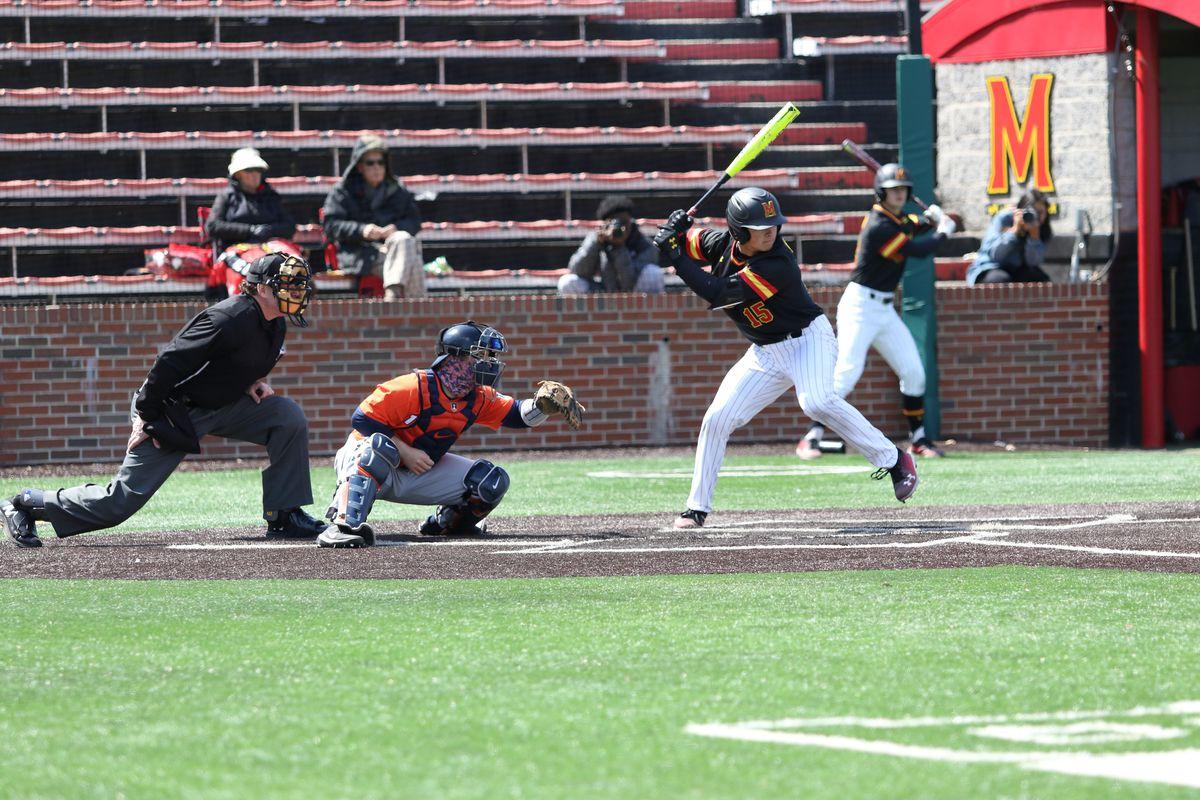 Maryland baseball Randy Bednar vs Illinois