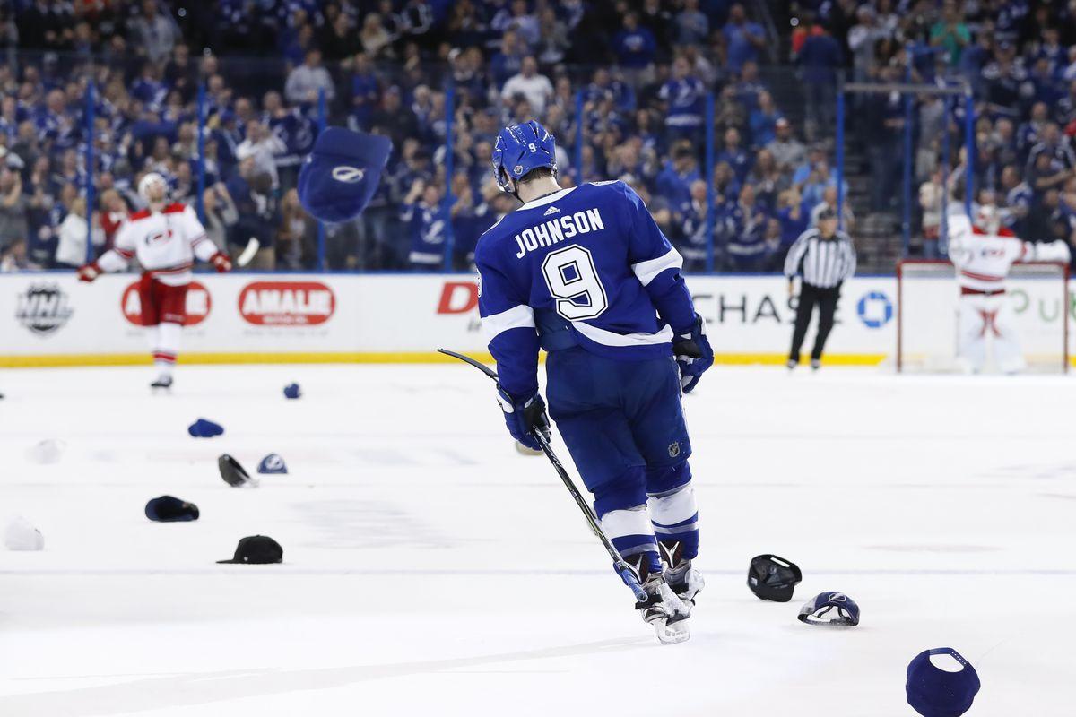 NHL: JAN 09 Hurricanes at Lightning
