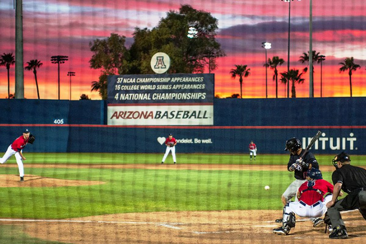 Oregon St. Visits Hi Corbett Field to take on Arizona tonight.